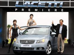 Michael Grimaldi, CEO of GM Daewoo, lacetti introcruze