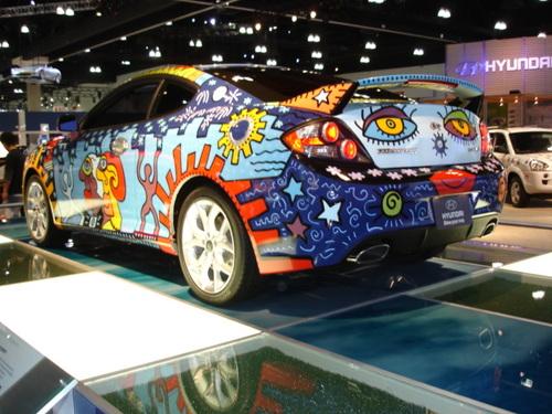 Hyundai Charity Car