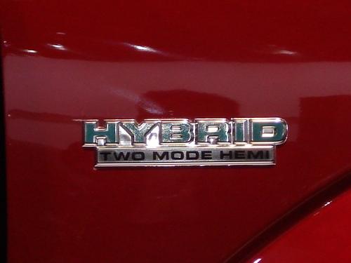 "DODGE'S ""HEMI HYBRID"""