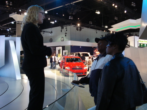 CHEVY VOLT DRAWS SOME INTEREST