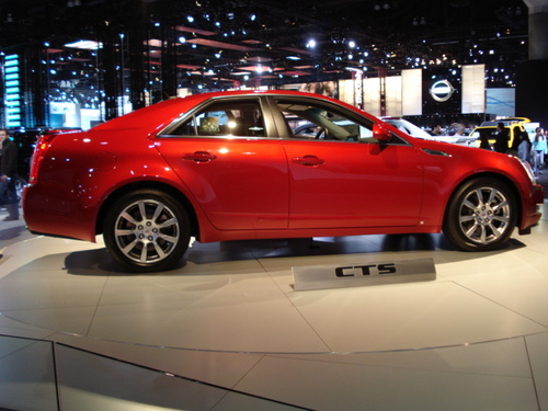 2008 CADILLAC CTS OFFERS MODERATE PRICING