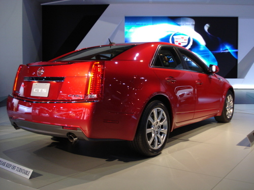 2008 CTS REAR 3/4 VIEW