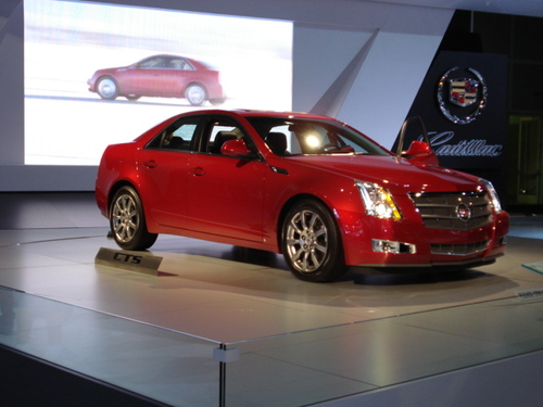 "CADILLAC'S CTS WINS ""MT'S COTY"""