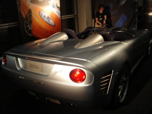 STUNNING CALLAWAY C16 CABRIO SPEEDSTER DEBUTS AT 2007 LOS ANGELES AUTO SHOW