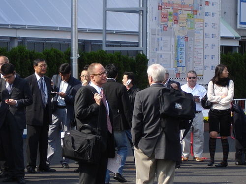 Tokyo Motor Show Press Entrance