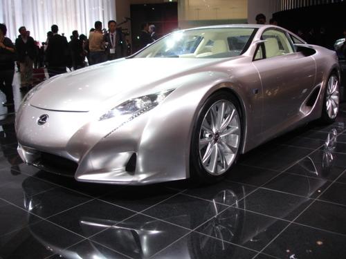 Lexus LF-A front 3/4 view
