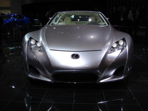 Lexus LF-A front view