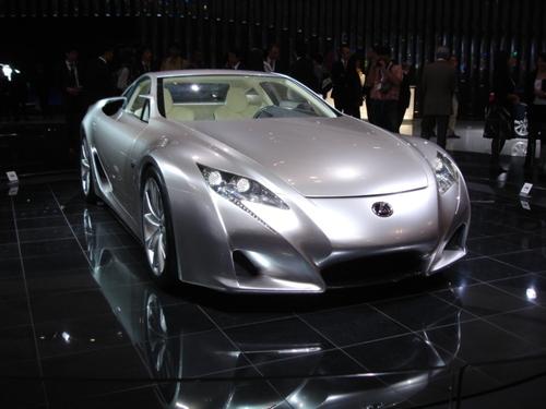 Lexus LF-A front 3/4 shot