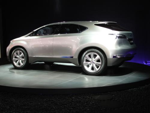 Lexus RX concept; aka LF-Xh