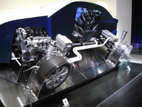 Lexus Hybrid Drive Exhibit