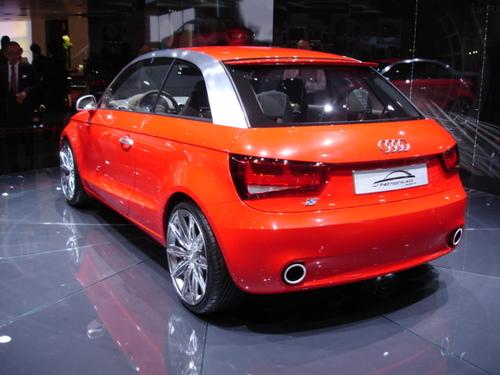 Audi MetroProject quattro concept/ Rear Deck
