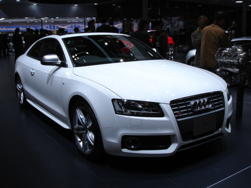 Audi S5, Frontal view