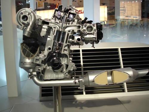 Nissan Engine Detail