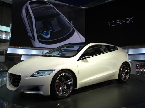 CR-Z Concept by Honda at Tokyo