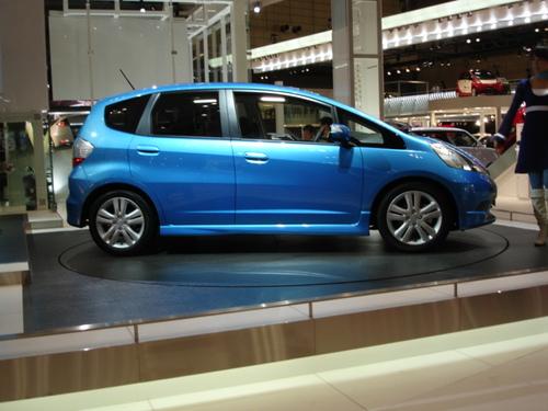 Honda Fit profile