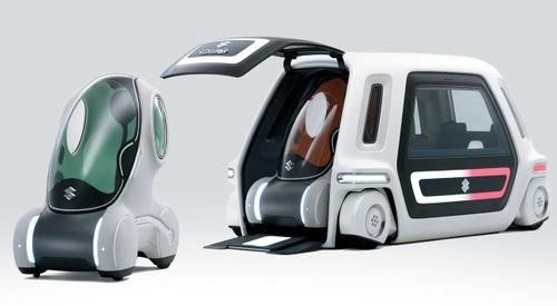 Suzuki Pixy and SSC Concept