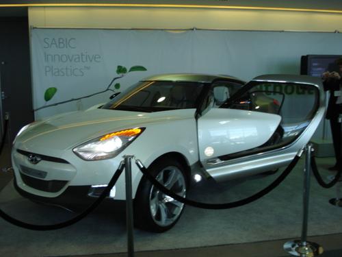 Sabic Plastics Showcase Concept Car