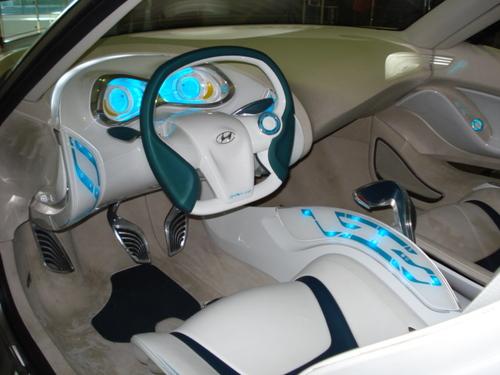 Sabic Plastic Car Concept Interior
