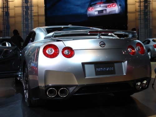Nissan GT-R rear view