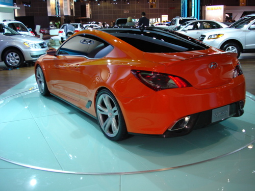 Genesis Coupe Concept