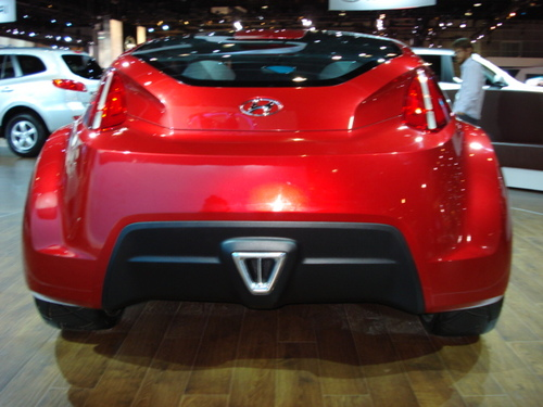 Hyundai Veloster Rear View