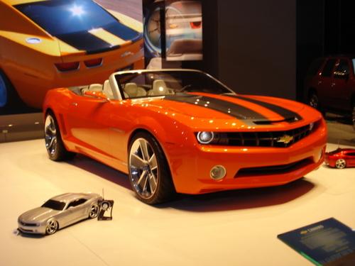 2009 Camaro Convertible Prototype