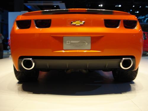 Camaro Prototype Rear Shot