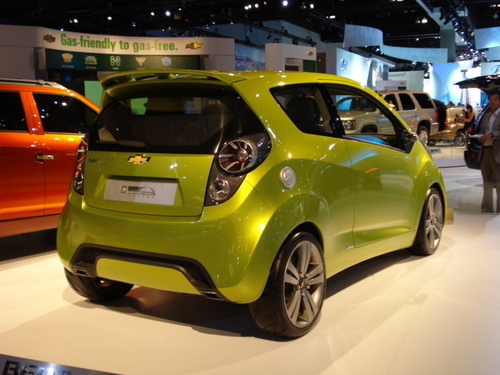 Chevrolet Beat City Car Goes Into Production --- But Not-For-Sale in the USA