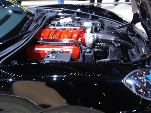 """Jay Leno Corvette """"Green"""" Engine"""