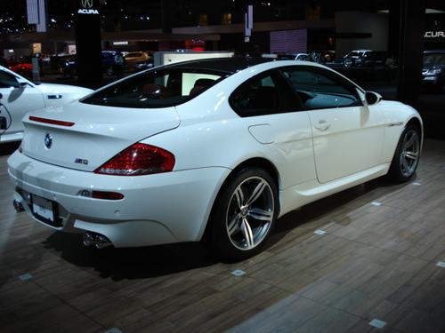 BMW M6 Rear Angle