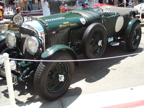 BENTLEY RACE CAR
