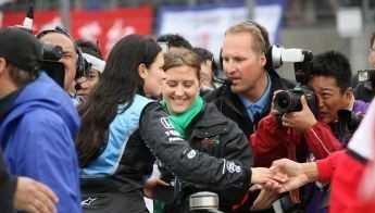 Danica Meets the Media
