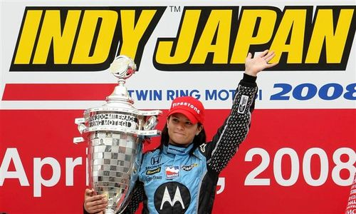 Danica and Trophy