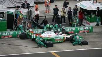 Danica Patrick's teammate, Tony Kanaan, Takes Fifth