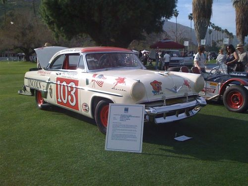 1954 LINCOLN CAPRI MEXICAN ROAD RACE CAR