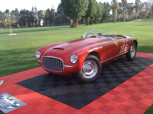 THE 'FIRST' FERRARI --- 1947