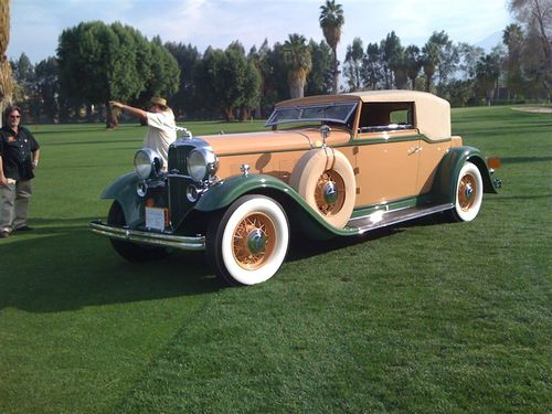 1932 LINCOLN WATERHOUSE