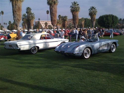 AMERICAN MUSCLE MAKES A SHOWING AT DESERT CLASSIC