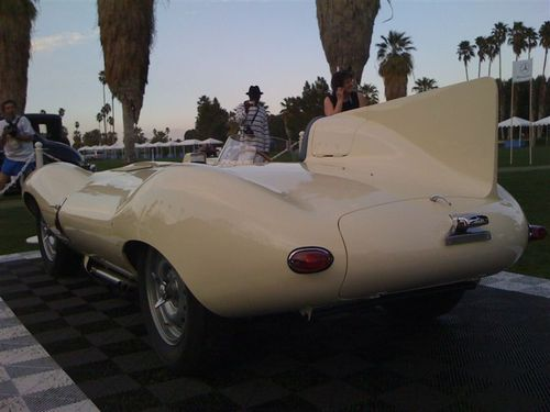 JAGUAR D-TYPE REAR VIEW