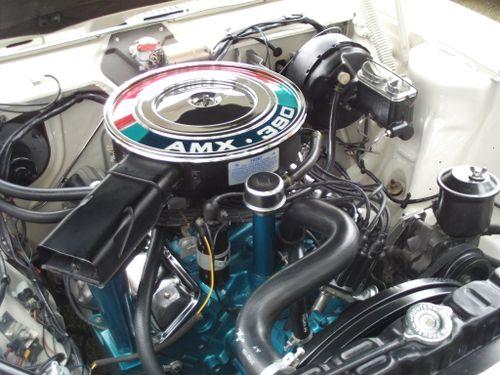 AMC AMX ENGINE