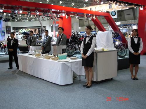 Motorcycle Reception