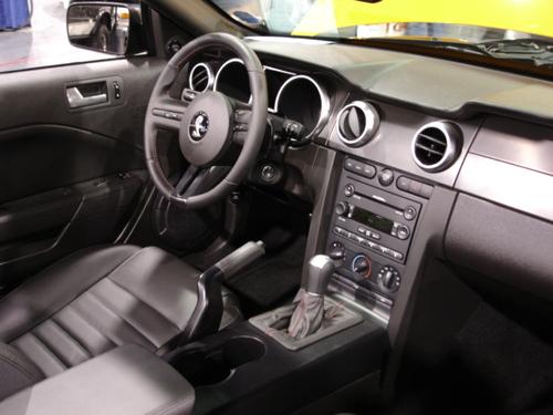 Shelby Cobra cockpit