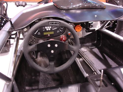 Racy cockpit