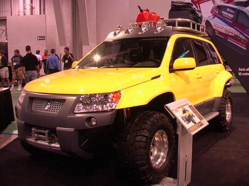 Suzuki tricked-out SUV