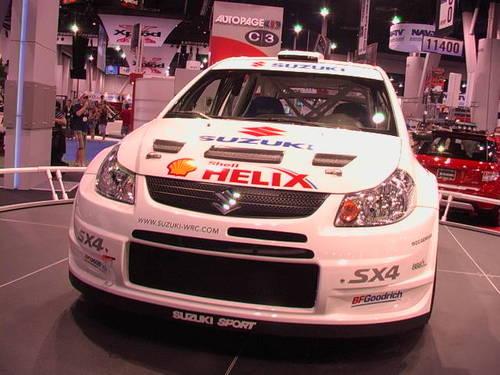 American Suzuki's WRC entry?