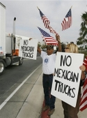 Mexicantruckprotests