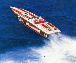 Benihanaraceboatflying